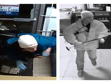 VIDEO: Durham police looking for Oshawa scratch ticket thief after convenience store break-in